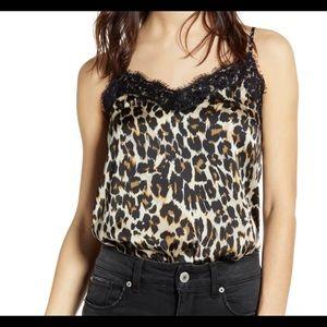 Cheetah Silk Cami